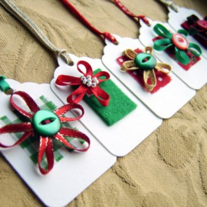 Craft Christmas Gift Tag