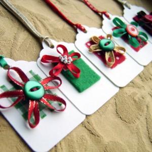 Craft Christmas Gift Tag