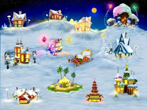 Holly Christmas Hidden Object Games