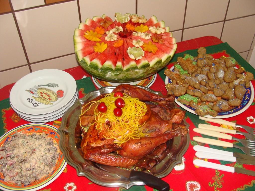 Brazil Christmas Dinner