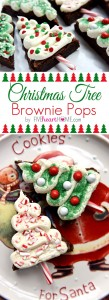 Christmas Tree Brownie Pops Recipe Cookies