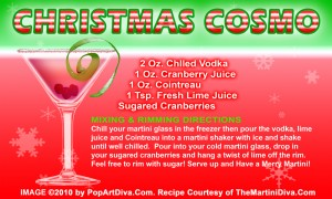 Christmas Martini Recipes