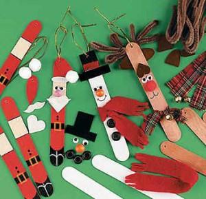 Stick Kids Christmas Craft Ideas