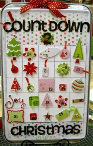 Christmas Advent Calendar Crafts for Kid