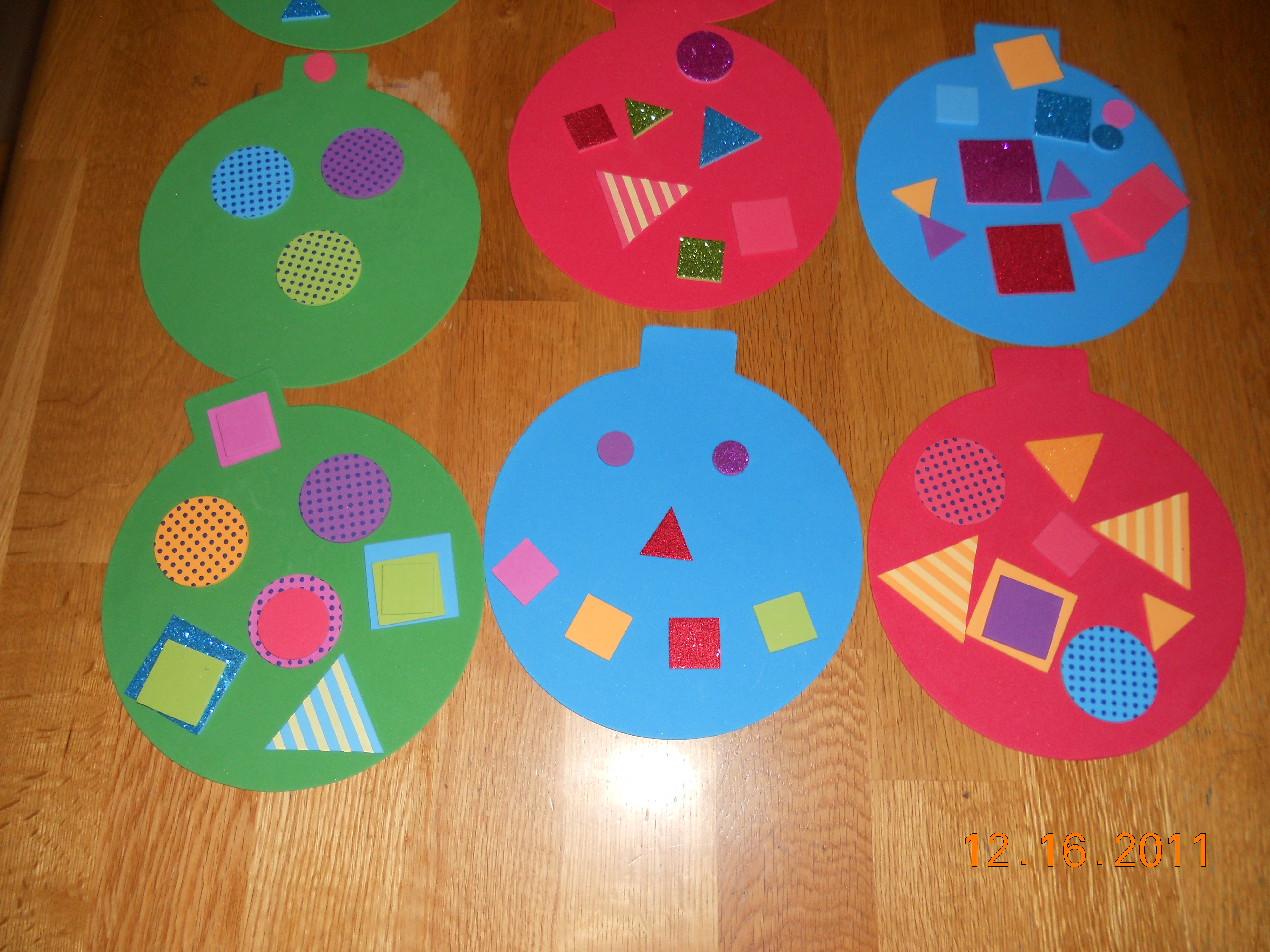 Exceptional Christmas Craft Ideas For Young Children Part - 4: Misslassy.files.wordpress.com. Easy Preschool Christmas Crafts
