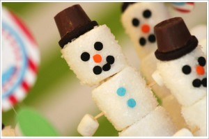 Snowman Christmas Craft Ideas