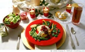 Christmas Dinner Food