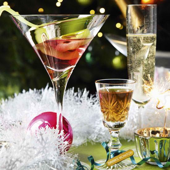 Christmas Cocktails Drinks