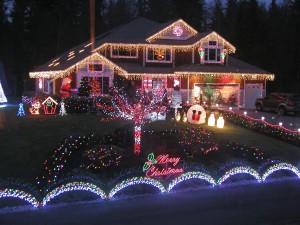 Outdoor Christmas Light Display