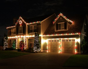 Christmas Lights On Houses Ideas