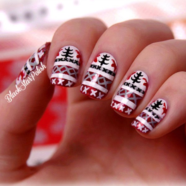 Best christmas nail art xmaspin best christmas nail art prinsesfo Images