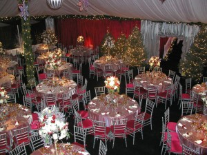 Christmas Party Table Decorations