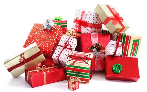 Christmas Presents Pile