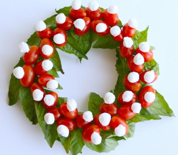 Caprese Wreath Salad