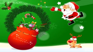 Free Christmas Wallpaper Santa Claus