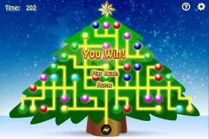 Christmas Tree Light Up Game
