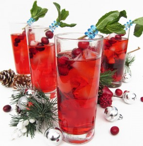 Christmas Holiday Cocktails Drinks