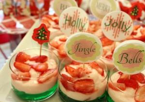 Christmas Parfait Desserts