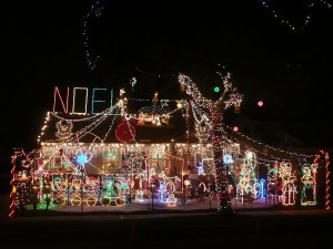 Outdoor Christmas Decorations House