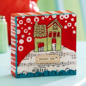 DIY Christmas Canvas Crafts