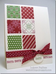 Easy to Make Christmas Simple Card