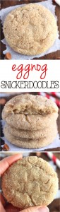 Eggnog Snicker Doodles Recipe Cookie