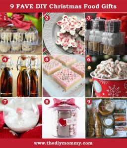 DIY Food Christmas Gift Ideas