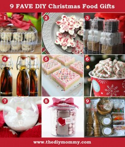 DIY Food Christmas Gift Ideas