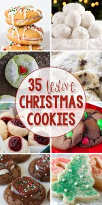 35 Festive Christmas Cookies
