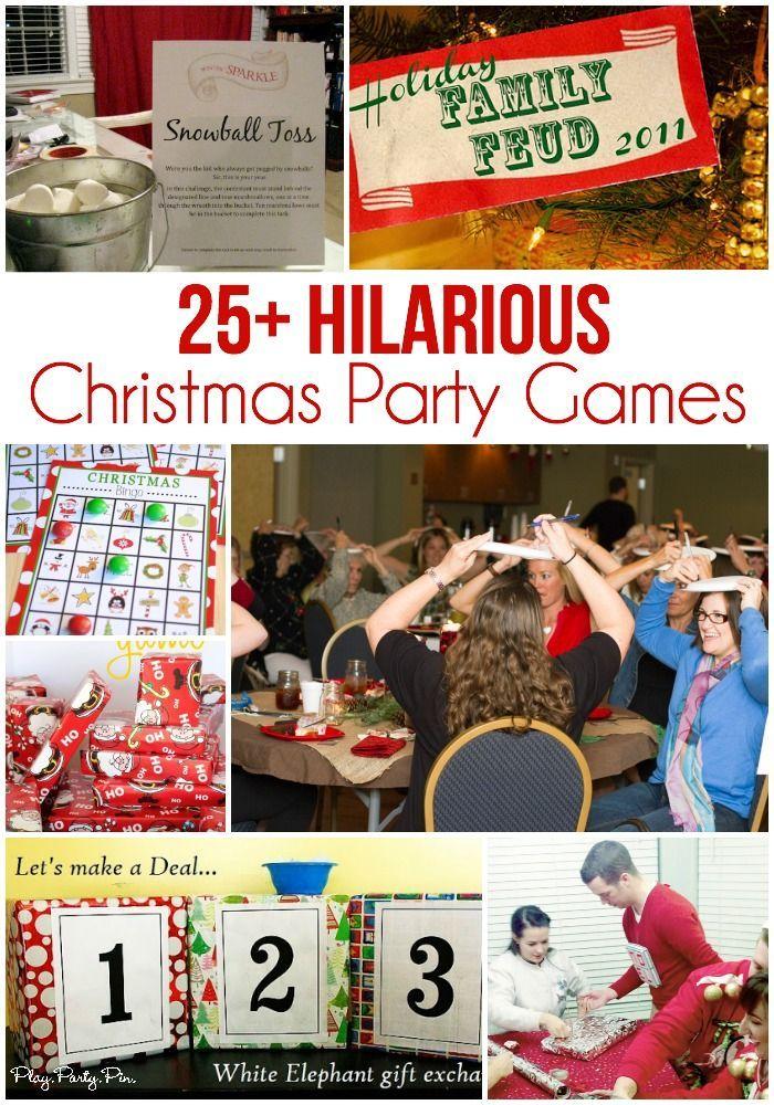 25 Fun Christmas Party Games