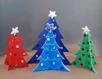 Christmas Tree Craft Project