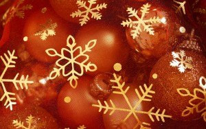 Christmas Ornament Desktop Wallpaper