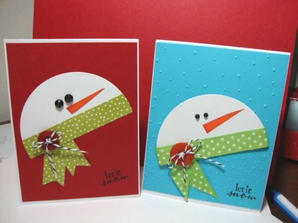 Handmade Christmas Cards 2015