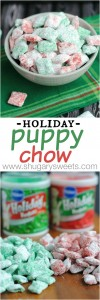 Holiday Puppy Chow Recipe Cookie