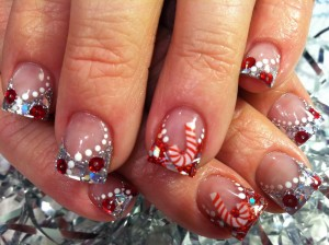 Cute Christmas Acrylic Nail Designs