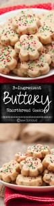 Ingredient Buttery Shortbread Recipe Cookies