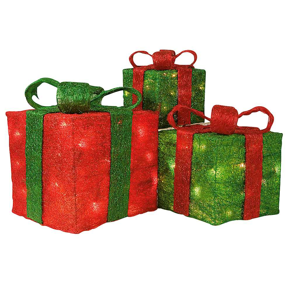 Christmas decoration gift boxes xmaspin for Christmas decoration stuff