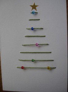 Simple Christmas Tree Card By Handmade