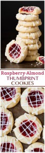 Raspberry Almond Shortbread
