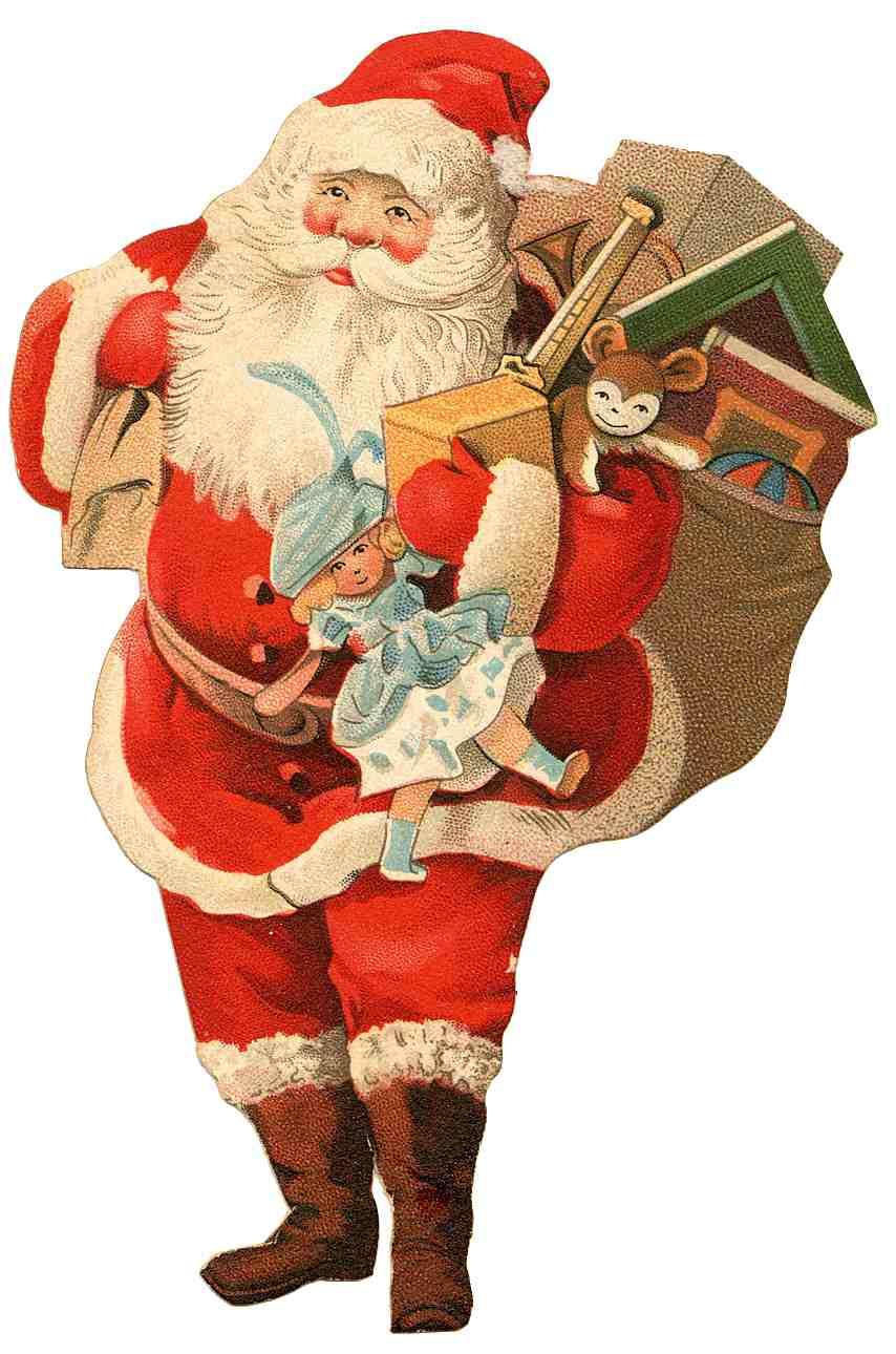 Christmas santa claus xmaspin