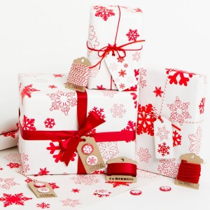 Gift-Wrapped Christmas Presents