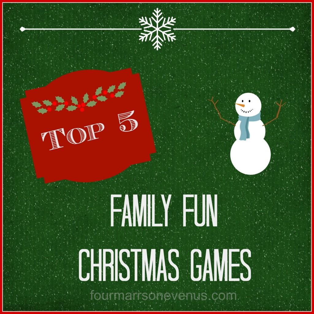 Family Fun Christmas Games