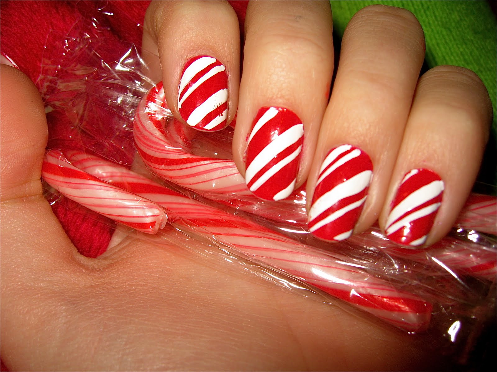 Acrylicnaildesigns Christmas Nail Design
