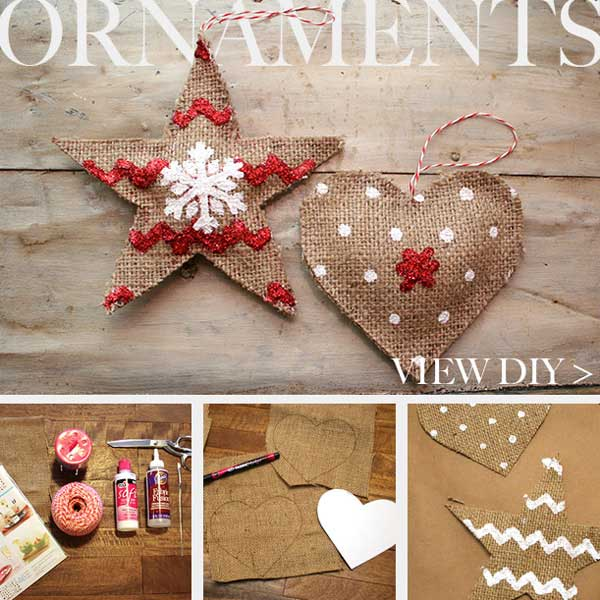 diy country christmas decorations xmaspin. Black Bedroom Furniture Sets. Home Design Ideas