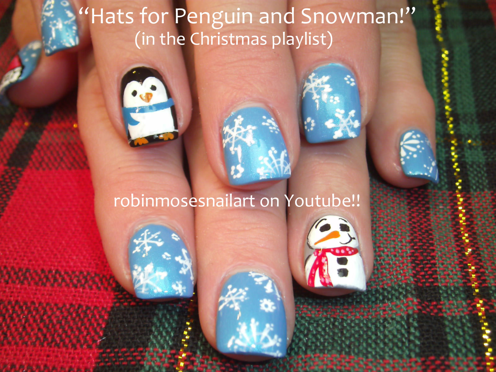 1bpblogspot Easy Christmas Nail Art Design