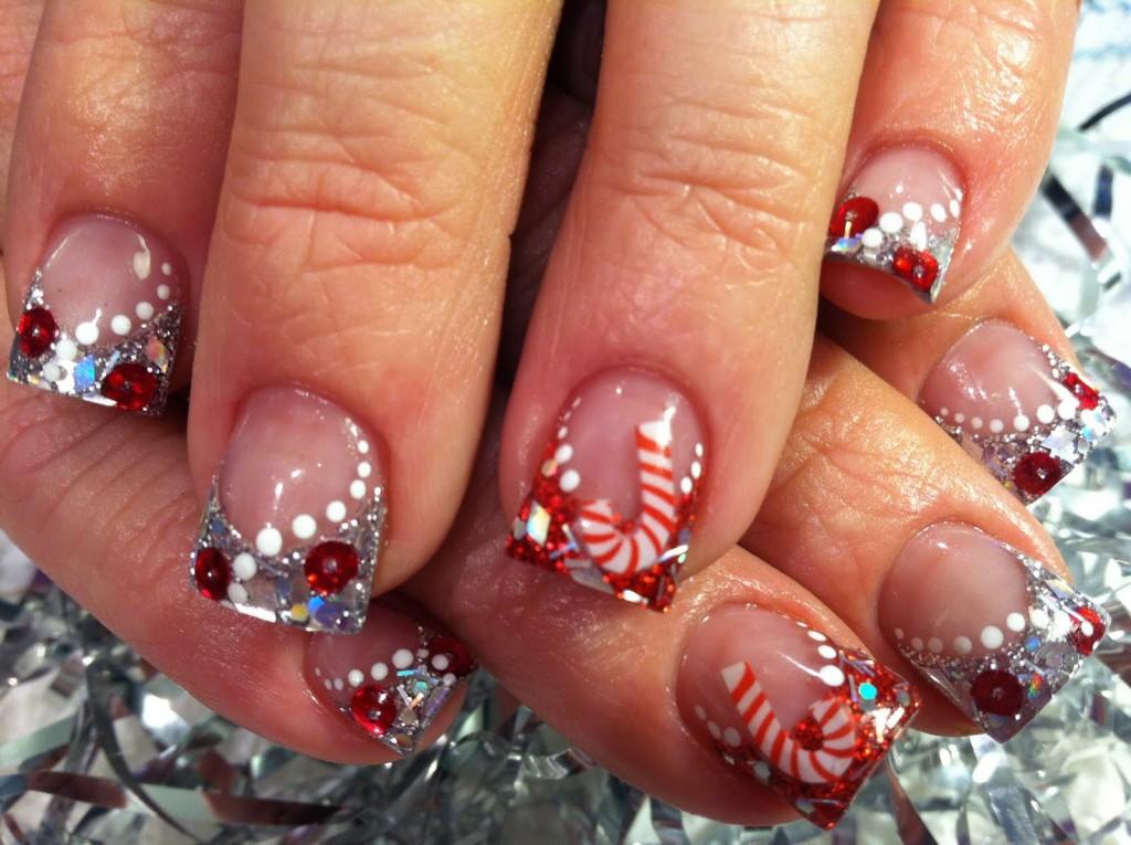 Cute Christmas Acrylic Nail Designs Xmaspin